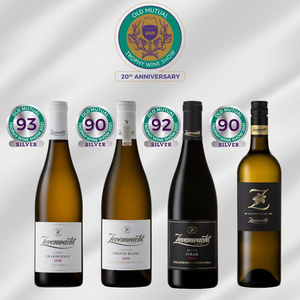 Old Mutual Trophy Wine Show Results 2021 – Zevenwacht Wine Estate